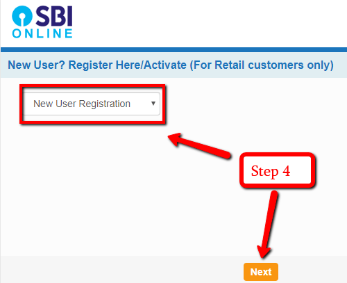 SBI Internet Banking Registration Online